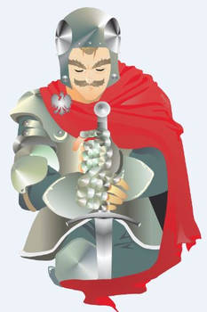 (Rycerz)knight-wektor