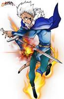 Bisu-fire Man
