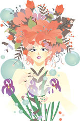 flower wektor elf