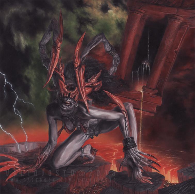 Demon 02 - 2013 [AVAILABLE Cover-Art] by VelioJosto