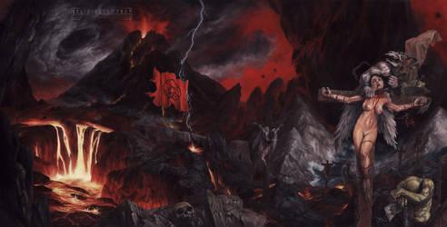 PREDICTION - Hell Strikes Back by VelioJosto