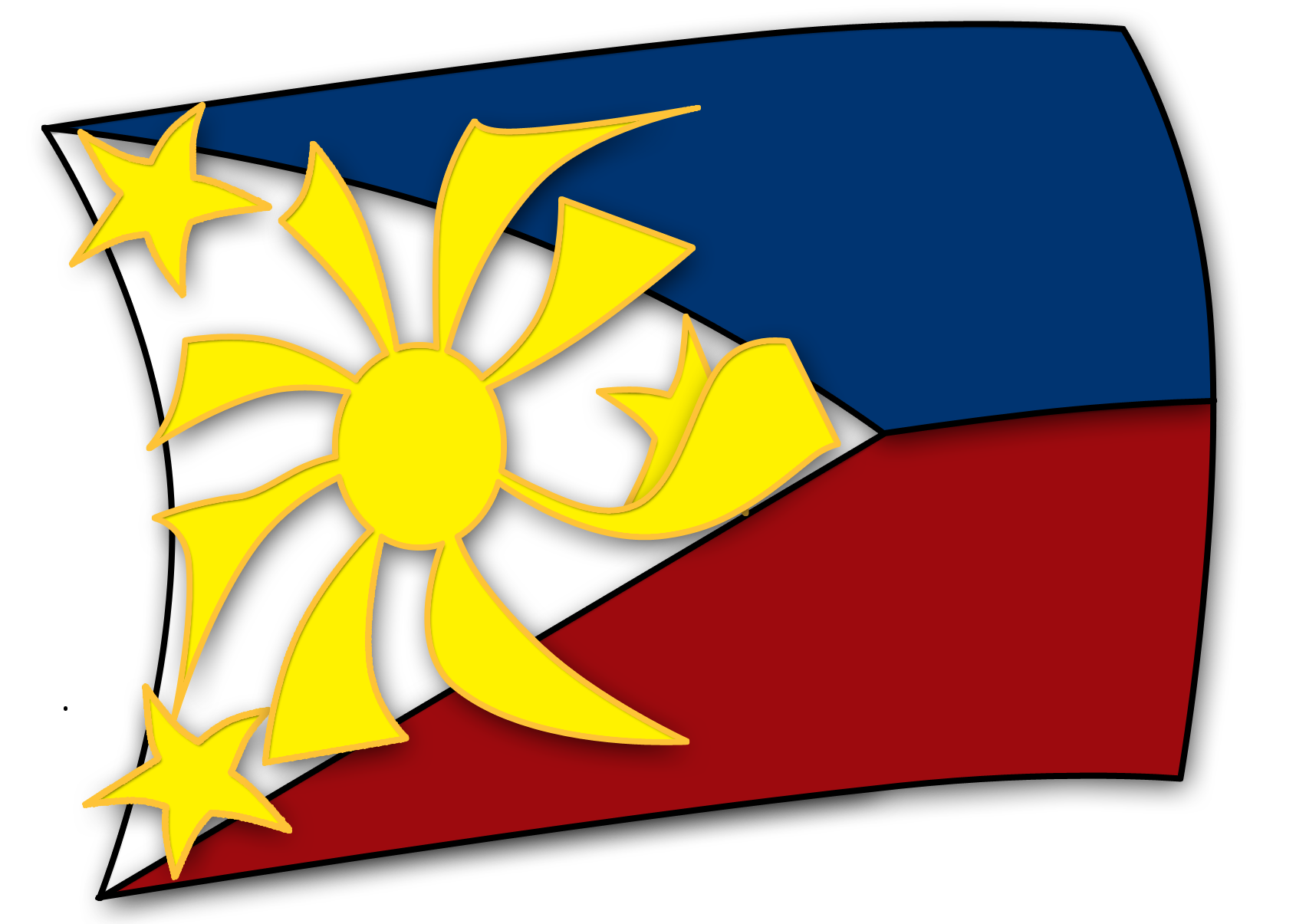 Philippine flag by neocatastrophic on deviantart philippine flag by nevermindph biocorpaavc Choice Image