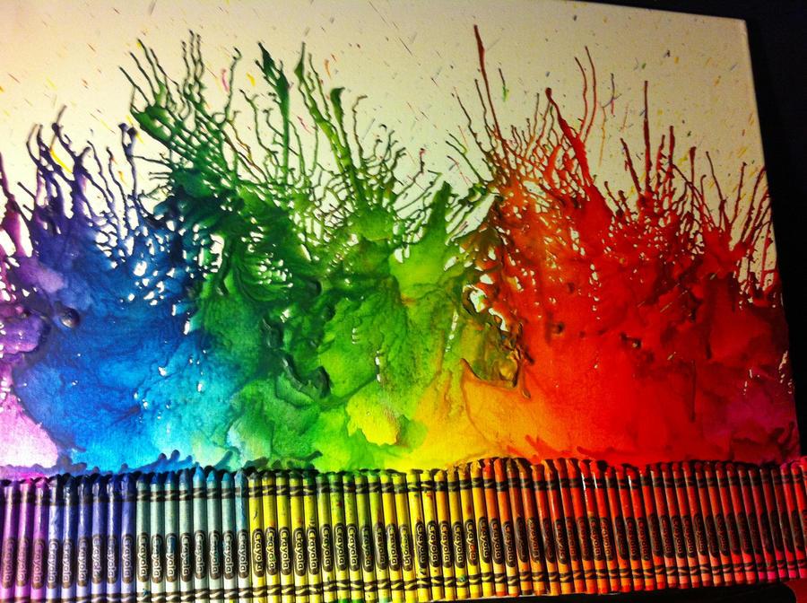 Crayons art by Liarbriarpantsonfiar