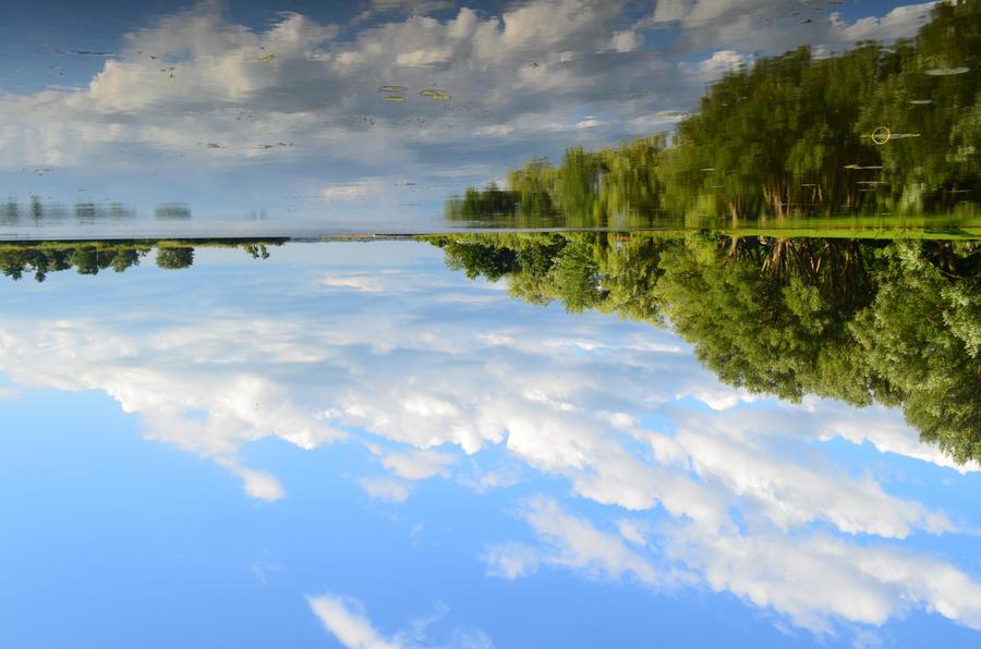 Reflect the sky by Liarbriarpantsonfiar