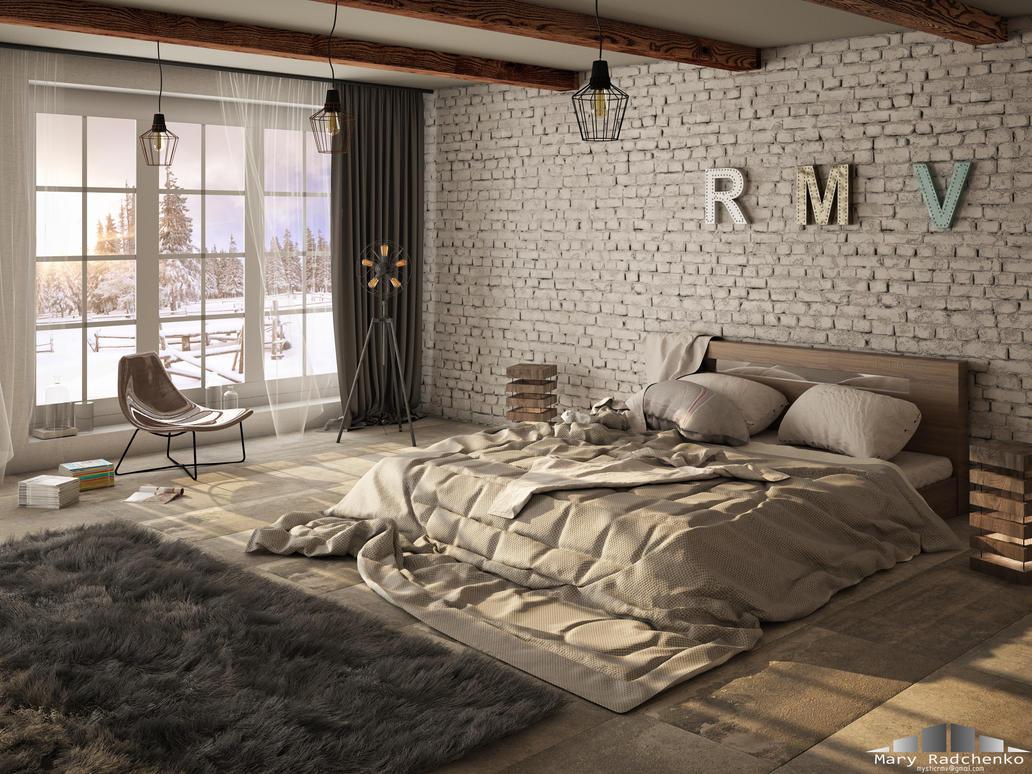 interior-loft by MysticMar