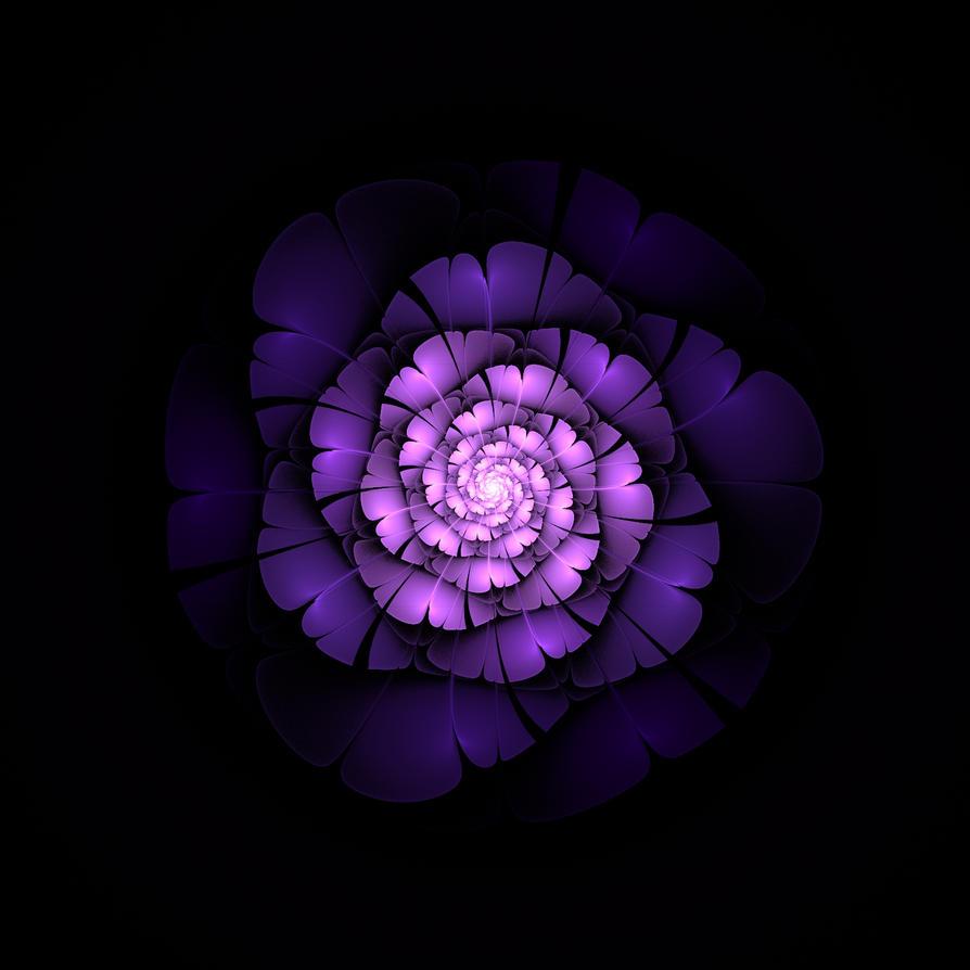 Purple Spirit by RoHu-veronicaP
