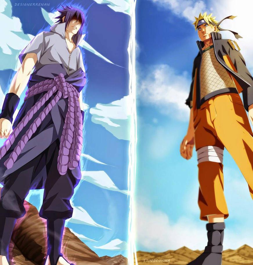 Naruto And Sasuke Best Friend By Kikyo3J