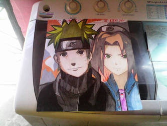 Naruto and Sakura (Complete Version) by kikyo3J