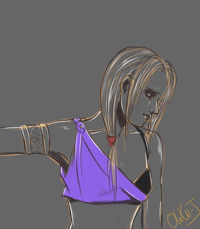 random sketch 2 by Otaku-J