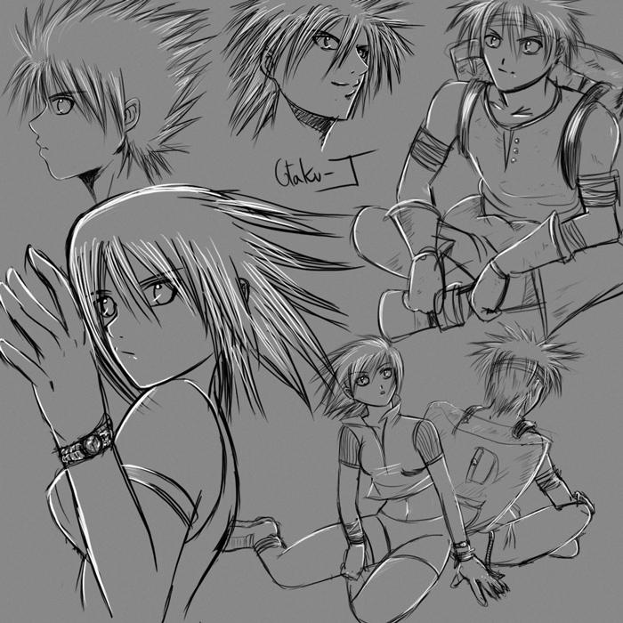 random sketch 8 by Otaku-J