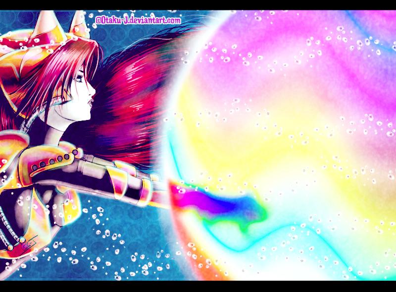 Birth of colors by Otaku-J