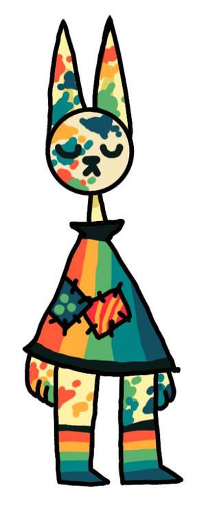 Rainbow Paint Mask Kitty Adopt