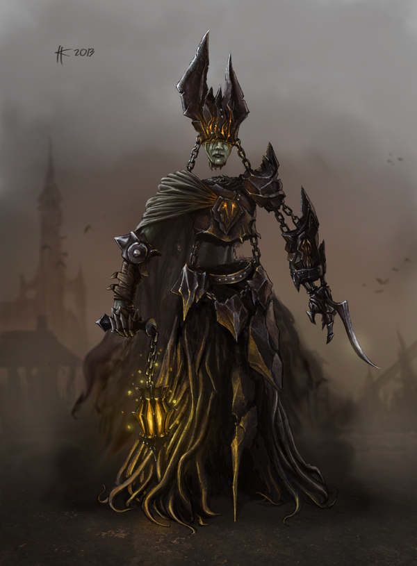 Priest of death by Thylacinee