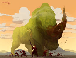 Grasslands Giant by Thylacinee