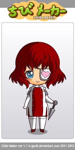 Creepypasta OC: Nurse (Chibi Maker) by AkatsukiBlackmail13