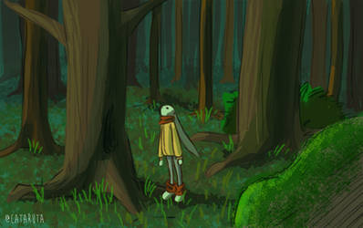 Woods by cataruta