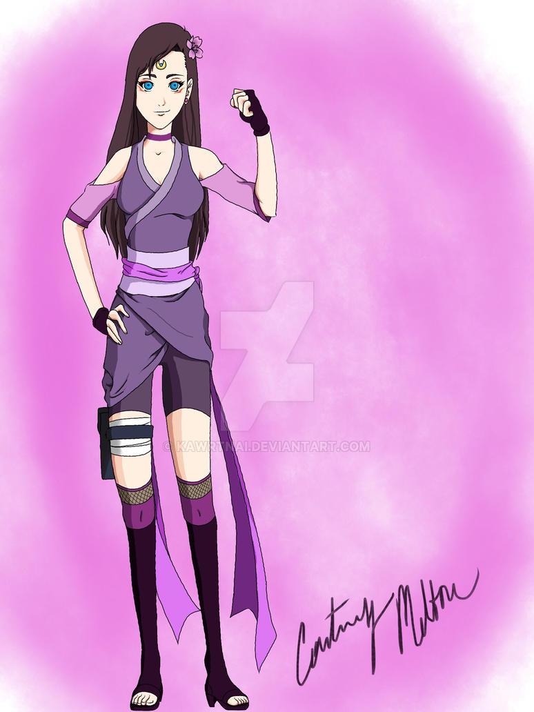Shiori, My Naruto OC by kawrtnai