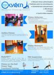 Pilates studio magazine ad