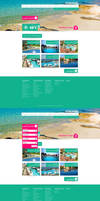 Travel Agency Website - concept