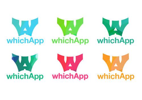Mobile app dev studio logo - concept 1