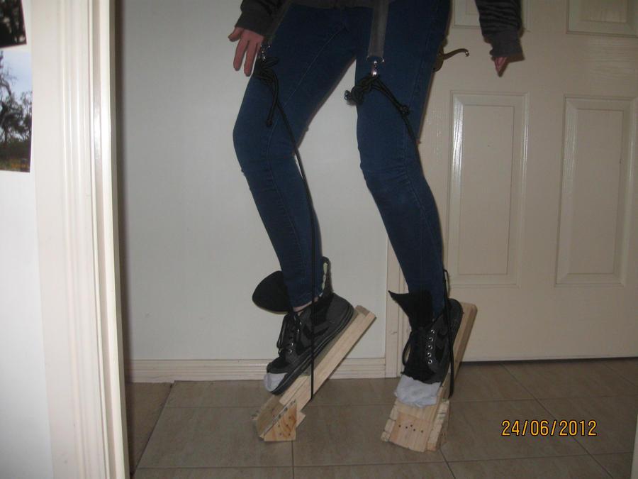 My digitigrade werewolf stilts How To Make Digitigrade Stilts
