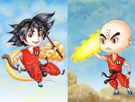 Dragonball by ElvenhamIllustration