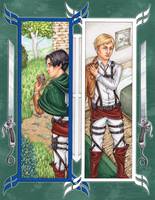 Survey Corps by ElvenhamIllustration