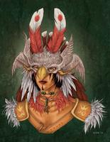 The Bird by ElvenhamIllustration