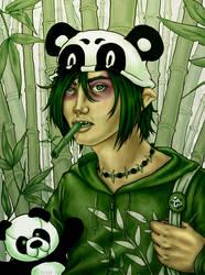 Panda by ElvenhamIllustration
