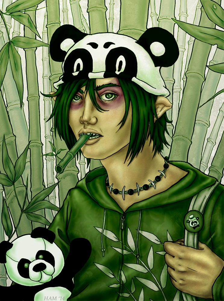 Panda by ElvenhamIllustration