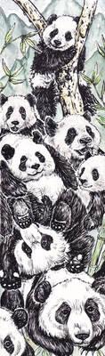 Pandas by ElvenhamIllustration