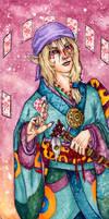 Medicine Seller by ElvenhamIllustration