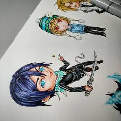 Chibi Details by ElvenhamIllustration