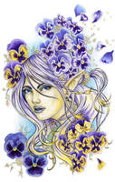 Pansy by ElvenhamIllustration