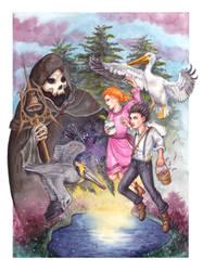Wriggle by ElvenhamIllustration