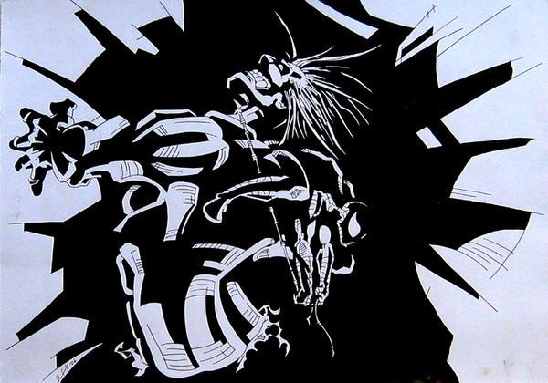 Hulk ans Spiderman by brrkovi