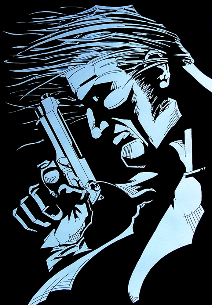 Gun Man by brrkovi