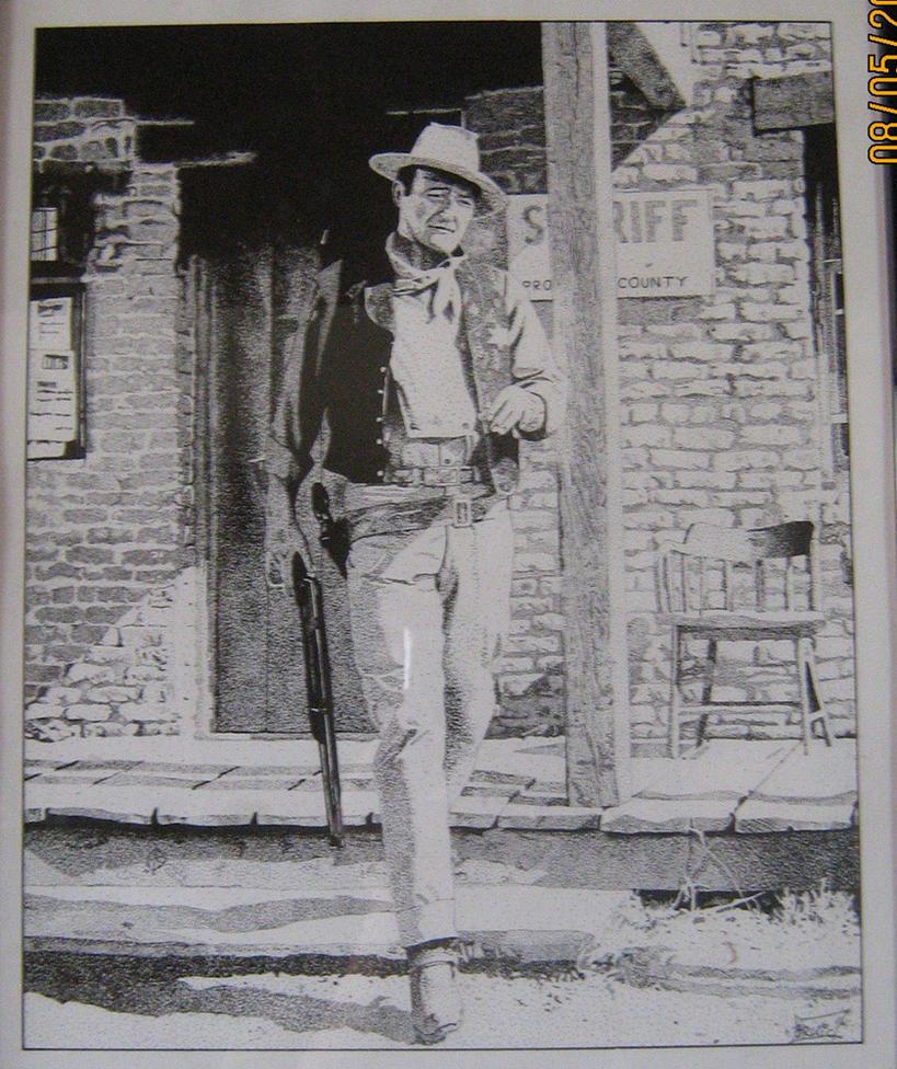John Wayne by brrkovi