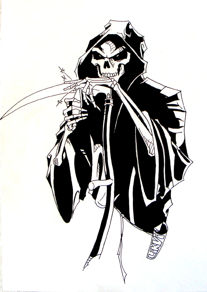 Related Pictures Cartoon Grim Reaper Drawingnow Funny Jpg