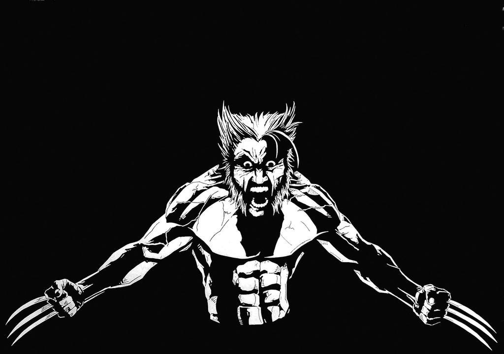 Raged Wolverine by brrkovi