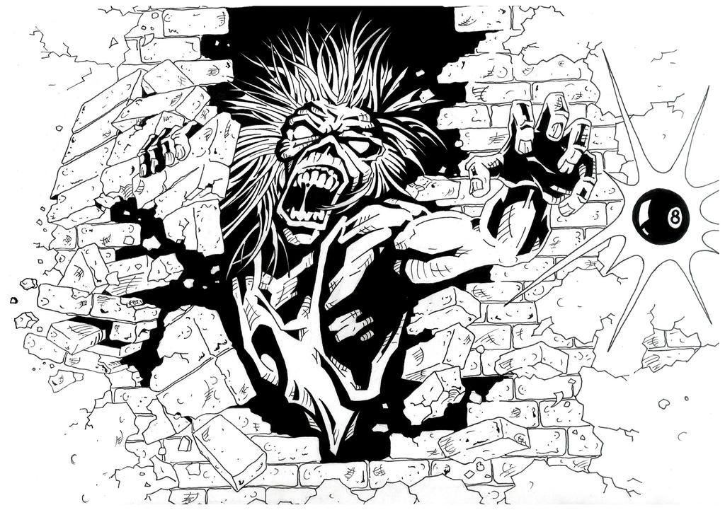 Monster Eddie by brrkovi