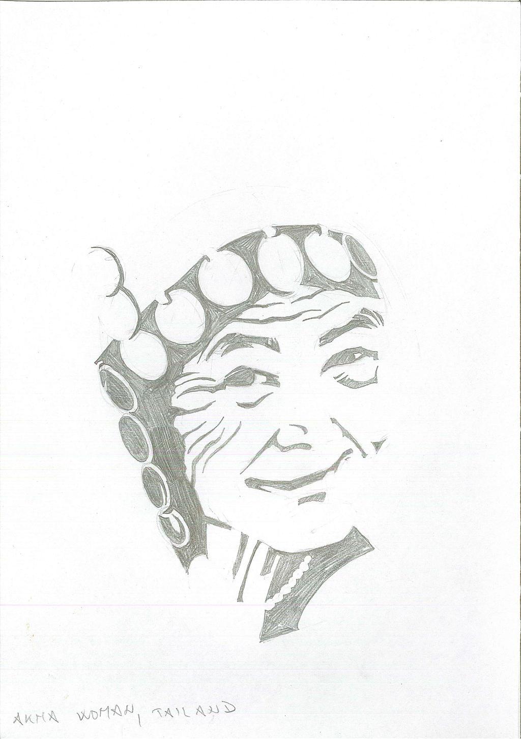 Akha Woman (Thailand) by brrkovi