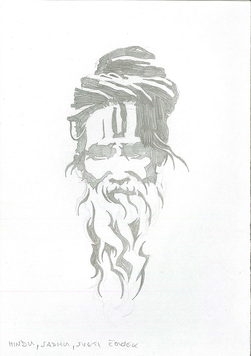 Hindu, Sadhu by brrkovi