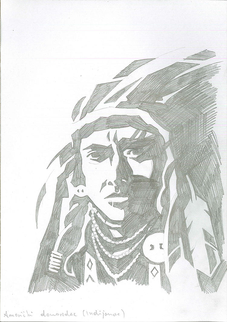 Indian (Native American) by brrkovi