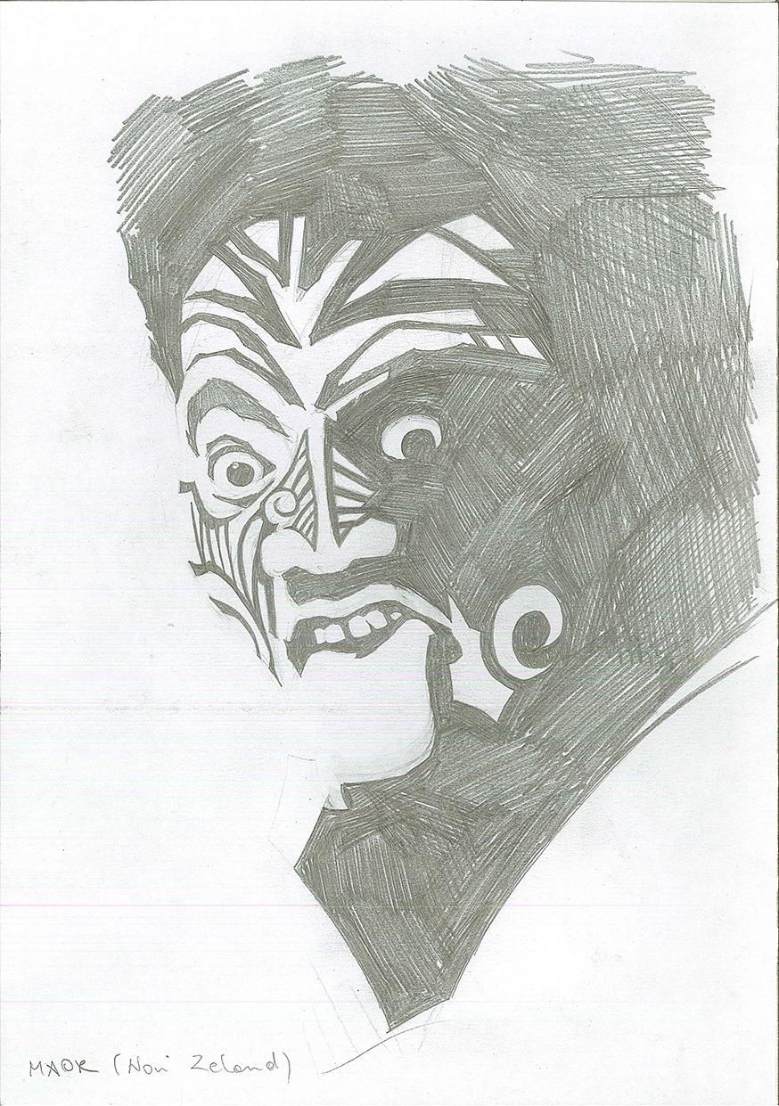Maori (New Zealand) by brrkovi