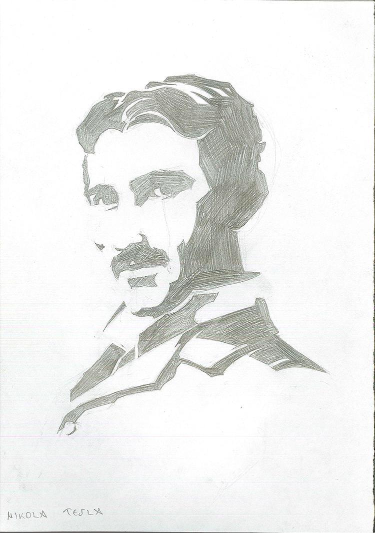 Nikola Tesla (Croatia, Serbia) by brrkovi