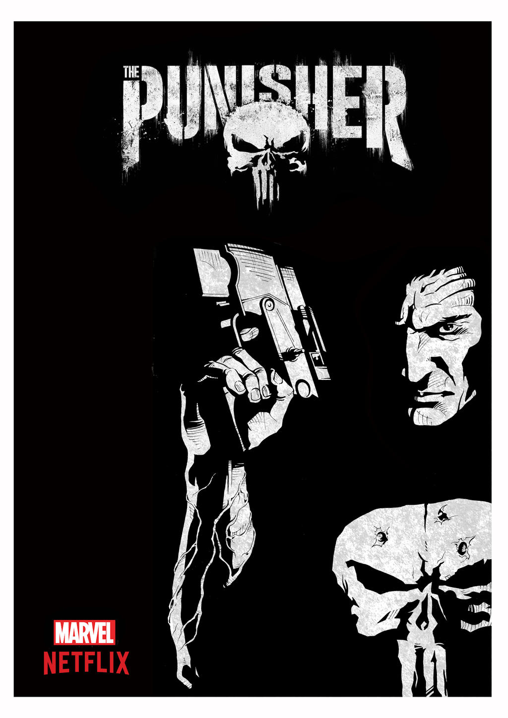 The Punisher by brrkovi