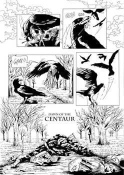 Dawn of the Centaur pg1