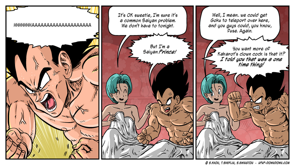 Vegeta Doing Sex With Bulma