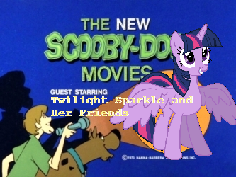 Scooby doo meets twilight sparkle and her friends by cartoonfreak666